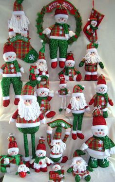 Handmade Cloth Art for Christmas decoration from Quanzhou Ruihua Crafts Company/China Gingerbread Decorations, Christmas Door Decorations, Christmas Signs, Christmas Themes, Christmas Crafts, Christmas Ornaments, Vintage Candy, Ornament Crafts, Christmas Stockings