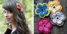 Crochet Mela Flowers [FREE Crochet Pattern]
