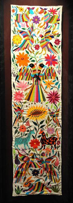 Otomi Embroidery Hidalgo Mexico  