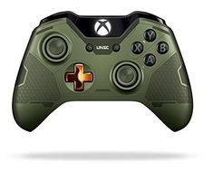 Xbox One Limited Edition Halo 5 Guardians Master Chief Wireless Controller * You can find more details by visiting the image link. Playstation, Xbox 1, Xbox One S, Buy Xbox, Xbox Live, Master Chief, Xbox Wireless Controller, Game Controller, Gaming Headset