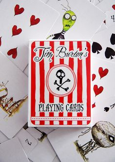 Tim Burton's Playing Cards - i have these. they're fabulous.
