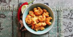 Foto: Hanna Dale Happy Foods, Scampi, Tapas, Cauliflower, Food And Drink, Vegetables, Ethnic Recipes, Indian, Circuit