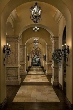 This is a hallway in a home?? Holy toledo!!!!