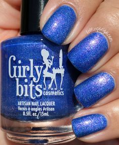 Girly Bits Dancing In The Moonlight // Available Aug 6-10. Aug Colour of the Month. Swatch by Kellie Gonzo