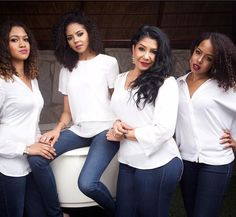 Mohammed Indimi's Wife Samira And Her 3 Daughters (pics) - Business - Nigeria