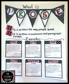 Common Core Anchor Charts | ... & Documenting the Common Core Standards with Anchor Charts Part 1 Genre Anchor Charts, Poetry Anchor Chart, Reading Anchor Charts, 4th Grade Ela, 5th Grade Reading, Reading Boards, New Classroom, Classroom Ideas, Reading Skills