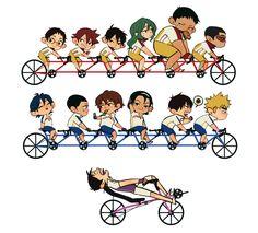 Yowapeda Bike Race stickers