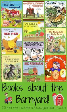 Down on the Farm Free Printables -- Free Worksheets for Kids -- Grades 1-3 -- Farm Books about the Barnyard