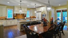Elberton Way (SL-1561) by architect Mitchell Ginn traditional-kitchen