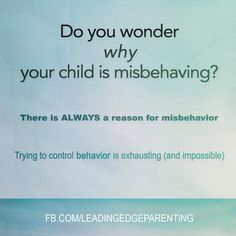 Getting to the root of WHY a child behaves the way they do is the key to being an empowered parent.