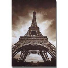 Marcin Stawiarz 'Eiffel Tower' Canvas Art