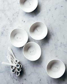 Atelier Make Porcelain : Salt set / Ensemble pour sel