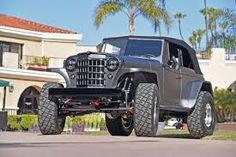 View 046 Mike Warn 1950 Willys Jeepster Tim Divers - Photo 174589313 from Roaring 502 Resto-mod 1950 Willys Jeepster Moab Jeep, Jeep Cj, Jeep Truck, Jeep Wrangler, Willys Wagon, Jeep Willys, 2007 Chevy Silverado, Jeepster Commando, Crate Motors