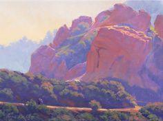 Landscape Painting California Plein Air Painting by ElenaRoche, $450.00
