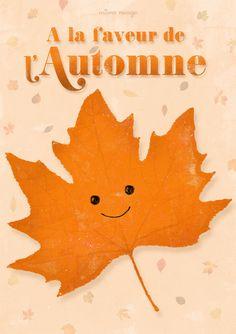 Carte {Automne} © Môme Nuage