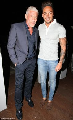 He's a smoothy: TOWIE's Mario Falcone shaves his beard off and shows off his new single image while chatting up scantily clad women Mario Falcone, Jess Wright, Lauren Pope, Lucy Watson, Chloe Sims, Louise Thompson, Geordie Shore, Made In Chelsea, Scantily Clad