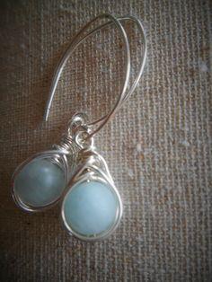 Weaved Bead Teardrop by SFDesigns2015 on Etsy  Sterling Silver Earrings Bead Jewelry