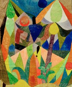 Paul+Klee+-+Mild+Tropical+Landscape