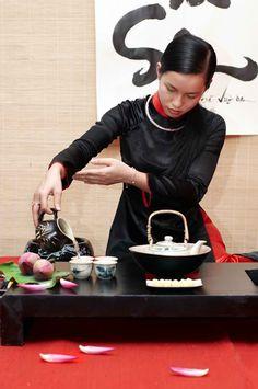 Vietnamese tea-drinking culture article /tea