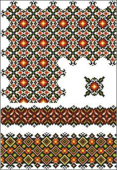 undefined: Cross Stitch Rose, Cross Stitch Borders, Cross Stitch Charts, Cross Stitch Designs, Cross Stitching, Cross Stitch Patterns, Folk Embroidery, Cross Stitch Embroidery, Embroidery Patterns