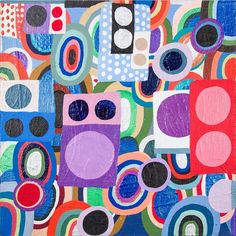 Nina Bovasso, 2006, 12 x 12 inches, acrylic on canvas