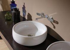 Aufsatzwaschbecken rund und edel von Flaminia  Bonola 46