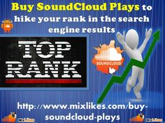 Buy SoundCloud Plays by visit us at our website and select the appropriate package. It is the superb way to get instant success in the music world. After getting the success you can extend your business in the entire world. Capture wide area of market in the online music world after getting the success and make your profit double.