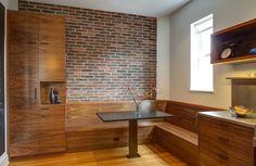 Walnut Modern Kitchen | Risa Boyer Architecture
