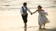 wedding, the bride, wedding dress, mood, the groom