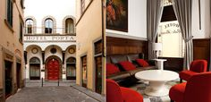 sleek, contemporary rooms in Florence ... NH Porta Rossa ... good central home base for the city and day trips into Tuscany