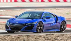 True blue Acura NSX