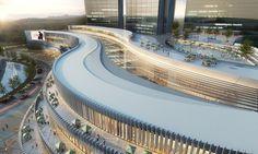 Gallery - Xiamen Wu Yuan Wan Mixed-Use Development Winning Proposal / Aedas - 3
