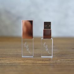 Custom Flash Drives for Photographers - Crystal USB or Wood – rospins Cool New Gadgets, Tech Gadgets, New Car Accessories, Cool School Supplies, Stationary School, Diy Clay, Usb Flash Drive, Creations, Hammacher Schlemmer