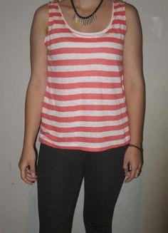 Kup mój przedmiot na #vintedpl http://www.vinted.pl/damska-odziez/koszulki-na-ramiaczkach-koszulki-bez-rekawow/13559377-dwuczesciowa-bokserka-pasiak-esprit-xs