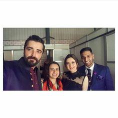 About last night ~Hum Style Awards . . #hamzaaliabbasi #haniehamir #zaidalit #love #hamzalianforever #humstyleawards