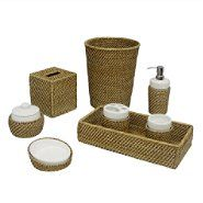 Elite Home Fashions Hana Accessory Set at Sears.com