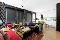 Zdjęcie numer 2 w galerii - Warszawskie, kolorowe mieszkanie z panoramą Bemowa