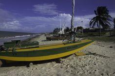 Ana Paula's Boat - The Ana Paula's boat in a Brazilian beach