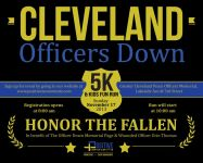 CLEVELAND Officers Down 5K