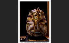 """Formerly exhibited in the Egyptian Museum at Tahrir Square, Cairo. Photo 1998.  Tutankhamun  was an Egyptian pharaoh of the 18th dynasty (ruled ca. 1332–1323 BC in the conventional chronology), during the period of Egyptian history known as the New Kingdom. He is popularly referred to as King Tut. His original name, Tutankhaten, means """"Living Image of Aten"""", while Tutankhamun means """"Living Image of Amun"""". In hieroglyphs, the name Tutankhamun was typically written Amen-tut-ankh, because of a…"""