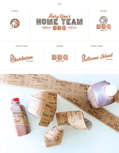 Home Team BBQ identity by Stitch Design Co.