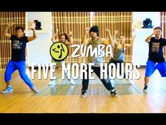 Five More Hours | Zumba® Fitness | Live Love Party - YouTube  60 mins of zumba, my new favorite chris brown song!, 377 calories, 4/28/15.
