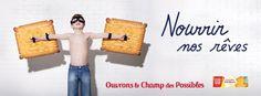 campagne d'affichage LU. Agence : BETC France (août 2013)