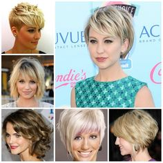 Short Hair With Bangs Photos
