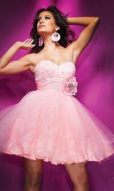 pink dress http://pinterest.com/nfordzho/party-queen/