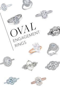 Oval-cut diamonds are making a major comeback. Click to see how you can get on top of this engagement ring trend! | Brides.com