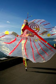 Empress Stilt Dance