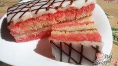 350 ml vody ne! Czech Desserts, Köstliche Desserts, Delicious Desserts, Yummy Food, Slovak Recipes, Czech Recipes, 21st Birthday Cakes, Different Cakes, Salty Snacks