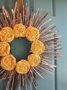Fall or spring wreath