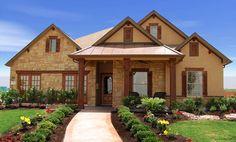 Model Home Wilshire homes  Pecan Crossing Schertz